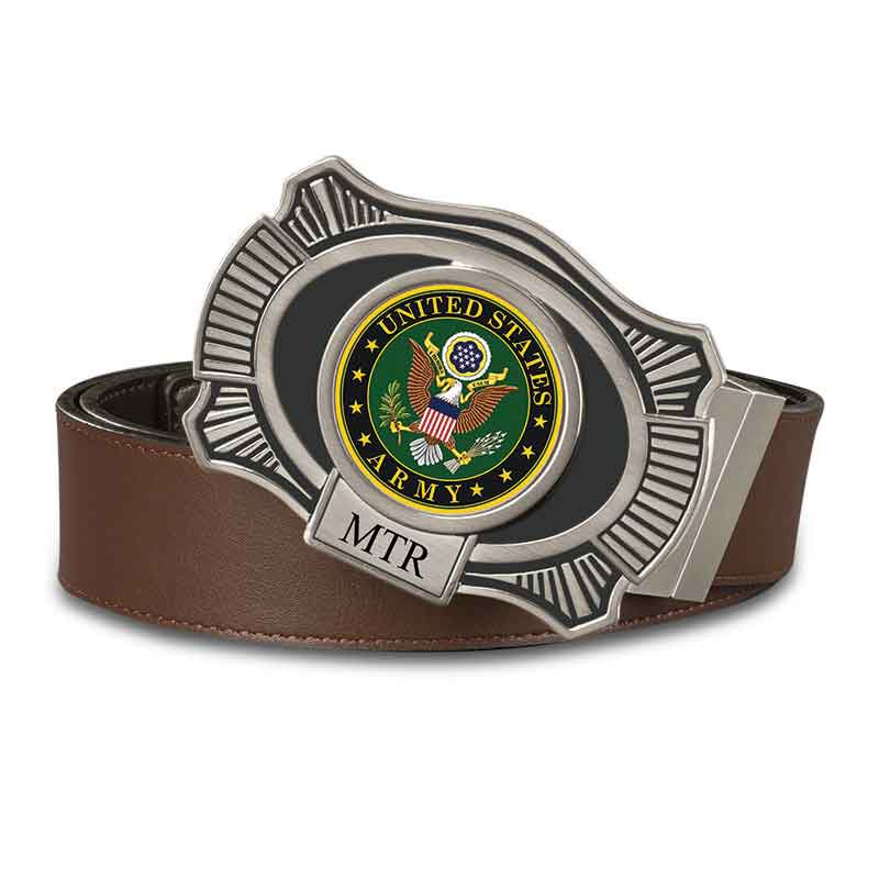 The US Army Leather Belt 2398 001 4 1