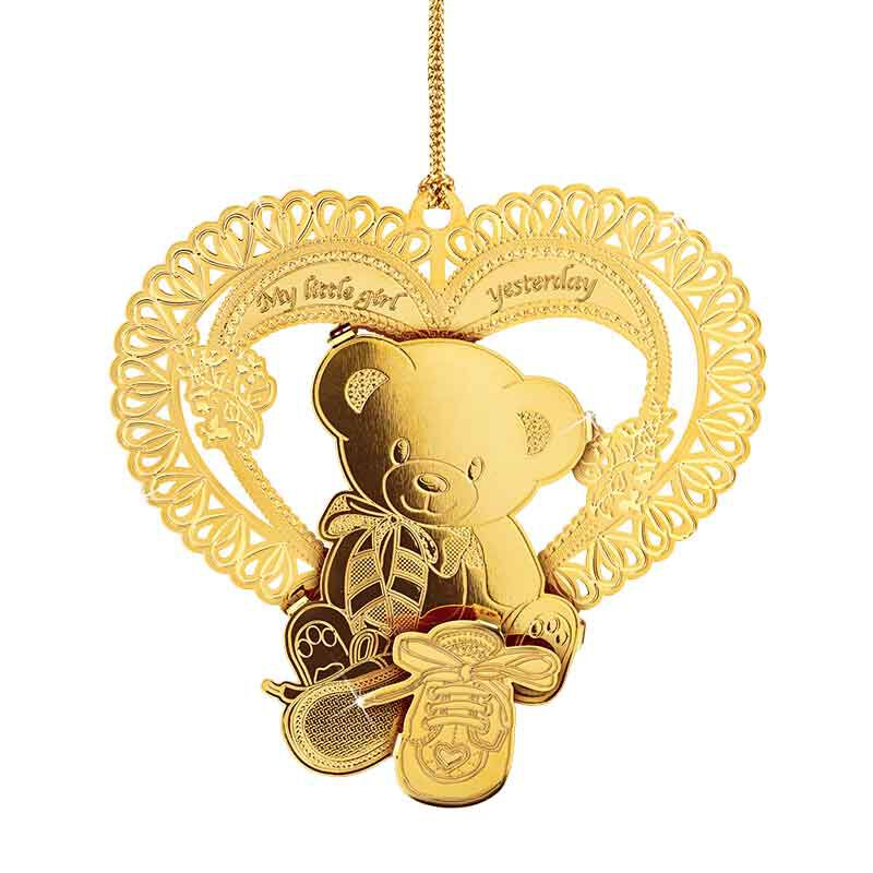 My Daughter Forever Gold Ornament Set 2279 001 8 2