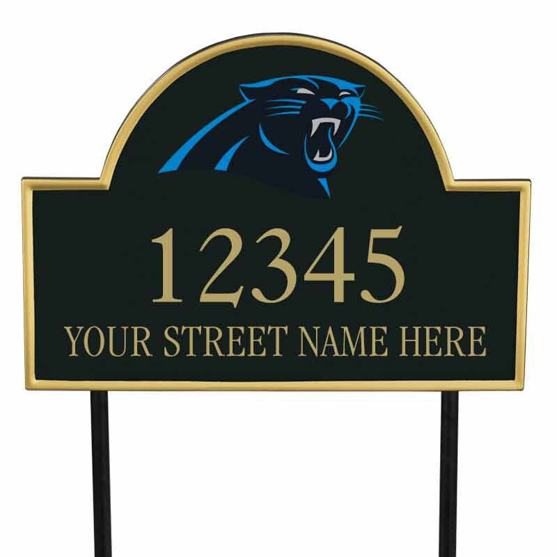 The NFL Personalized Address Plaque 5463 0355 u panthers