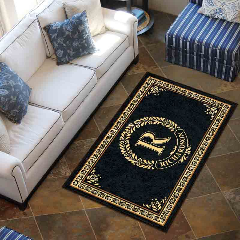 The Monogrammed Accent Rug 2413 001 5 3