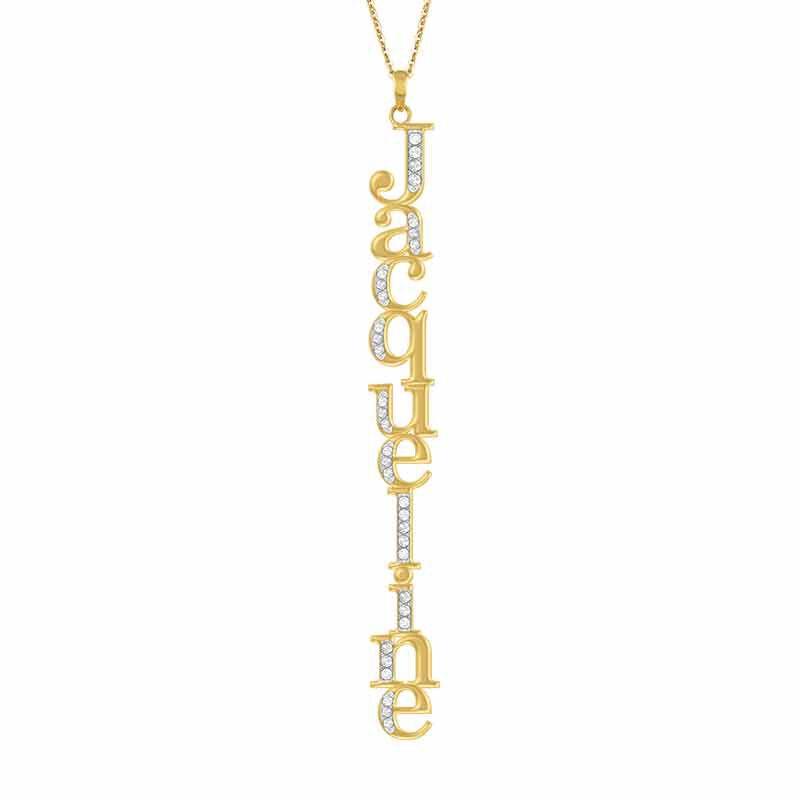 Personalized Swarovski Crystal Necklace 6572 001 3 1