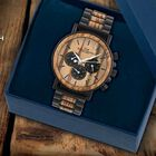 The Craftsman Mens Wooden Chronograph 4915 001 4 3