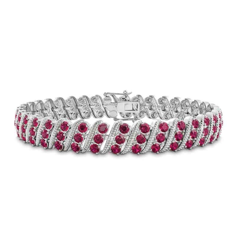 Bold  Brilliant Birthstone Bracelet 6003 001 2 7