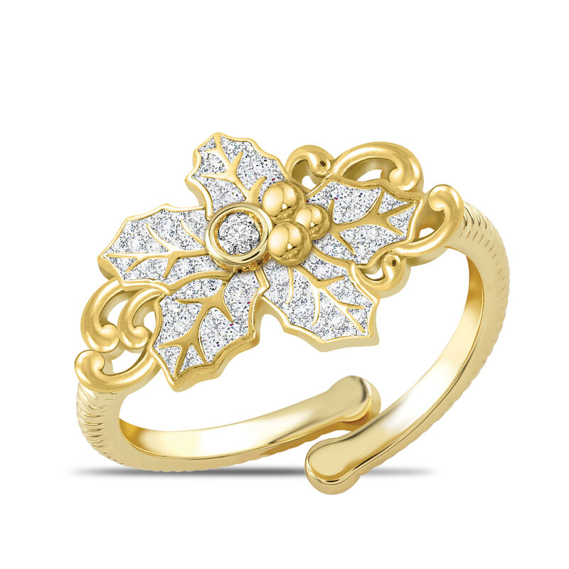 Facets Monthly Diamond Ring Collection 6114 0034 h august