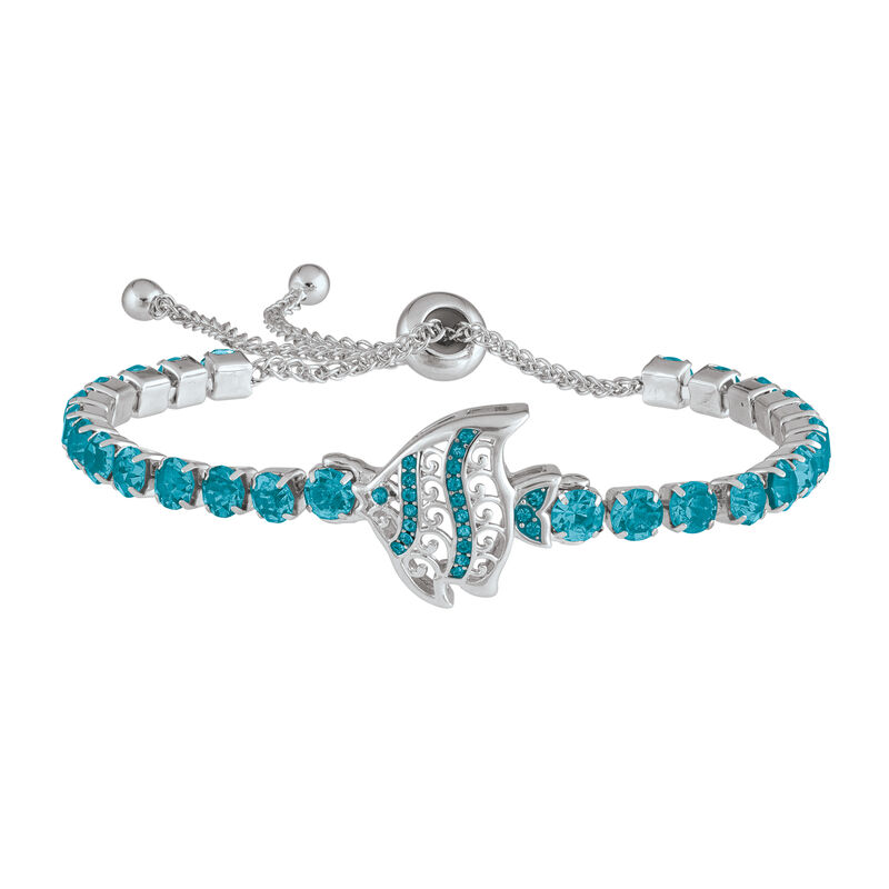 A Year of Sparkle Tennis Bracelet Collection 6933 0017 e august