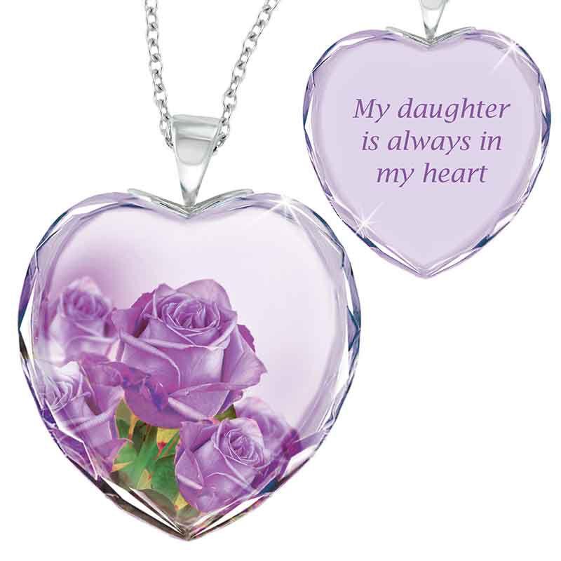 Mother  Daughter Crystal Pendant Set 1644 001 8 2