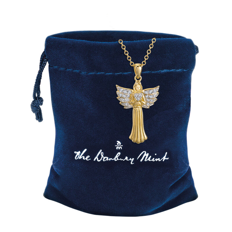 My Guardian Angel Pendant 10459 0013 g gift pouch