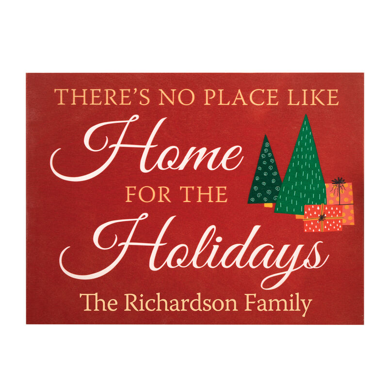 The Personalized Christmas Wood Sign 6996 0029 a main