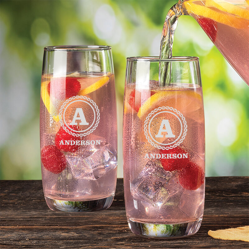 The Personalized Set of Four Beverage Glasses 5686 001 8 2