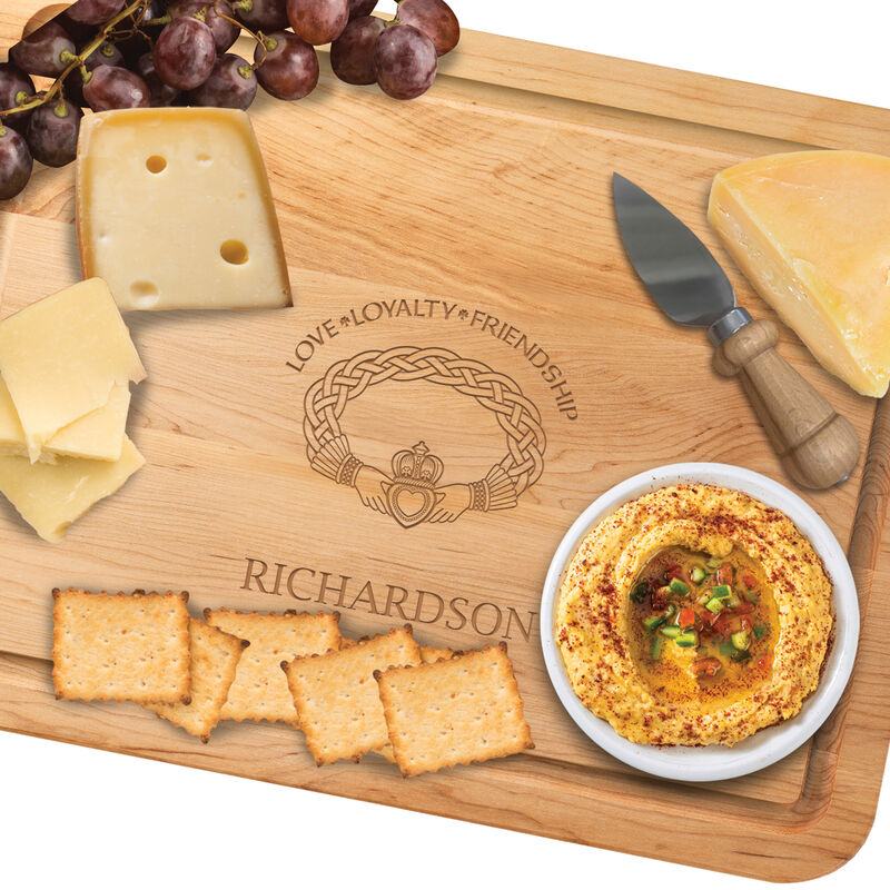 The Personalized Irish Blessing Cutting Board Free Knife 5108 0026 b cheeserev