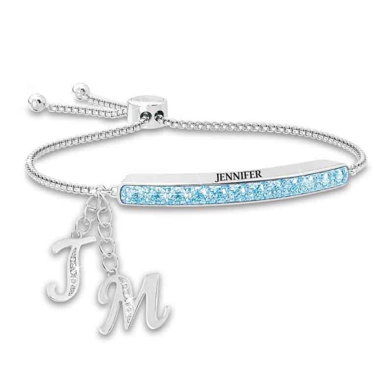 Personalized Birthstone Bolo Bracelet 1864 002 9 3