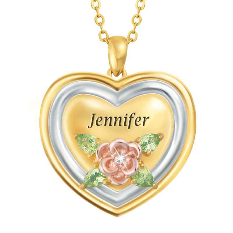 My Daughter Forever Personalized Diamond Pendant 9824 001 3 1