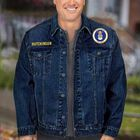 The Personalized Mens US Air Force Denim Jacket 1365 003 1 3
