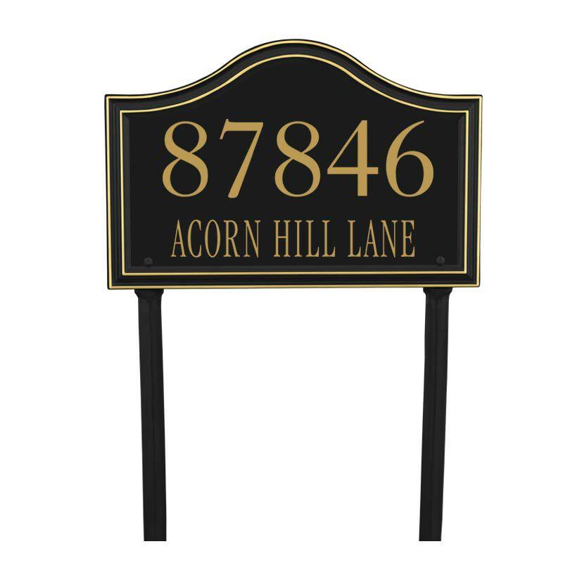 The Heritage Address Plaque 1020 001 2 1