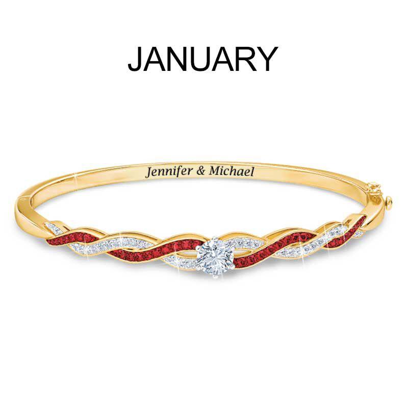 Birthstone Swirl Bracelet 5821 002 2 2