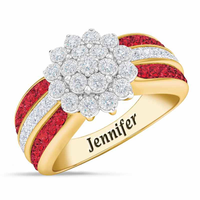 Personalized Birthstone Radiance Ring 5687 003 3 7