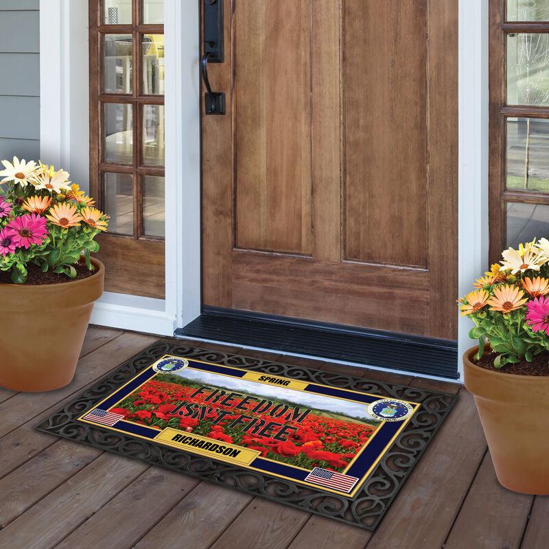 The Military Seasonal Welcome Mats 6197 0018 e outside