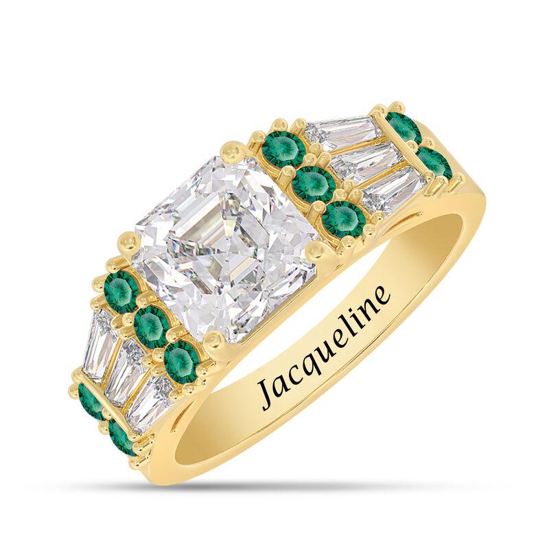 Birthstone Statement Ring 10142 0016 e may