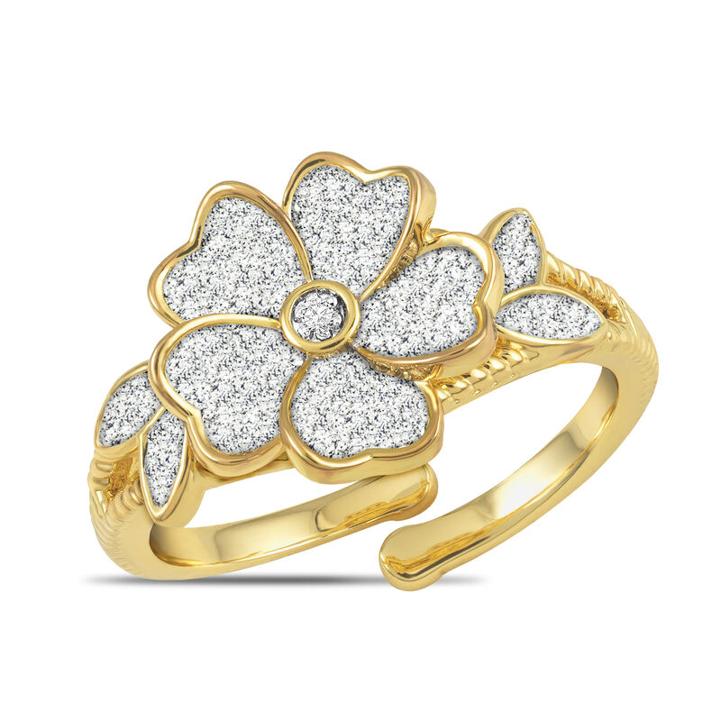 Facets Monthly Diamond Ring Collection 6114 0034 f june