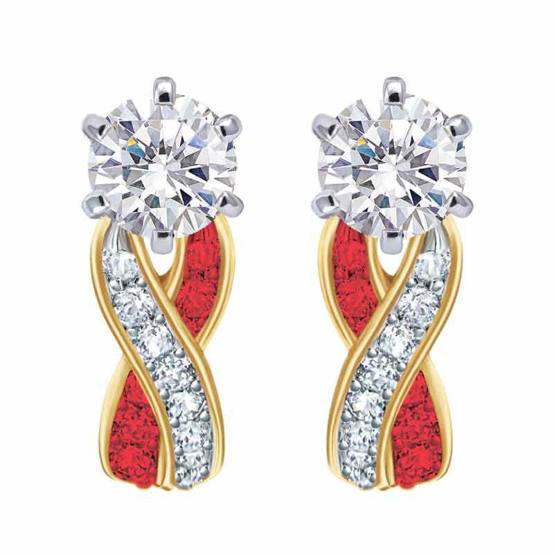 Birthstone Swirl Earrings 2647 001 3 7