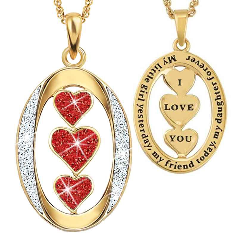 My Daughter I Love You Diamond Pendant 1136 001 3 7