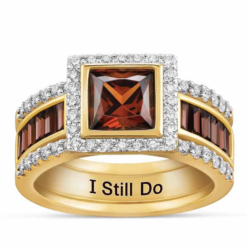 I Still Do Mocha Ring Set 6274 001 4 1