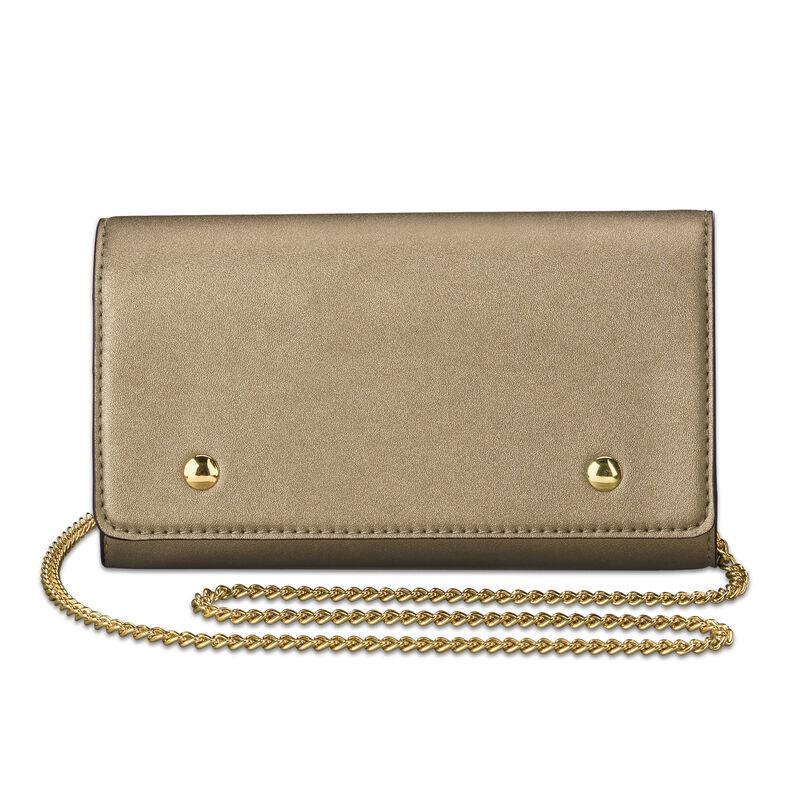 The Sloane Metallic Handbag Set 5519 0011 c wallet