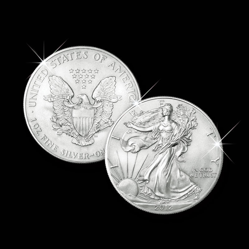 American Silver Eagles of New Millennium 2845 001 3 2