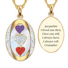 I Love You Double Birthstone Diamond Pendant 10703 0017 a main