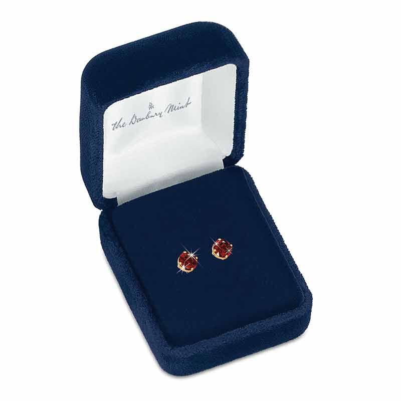 Birthstone Stud Earrings 3359 013 4 14