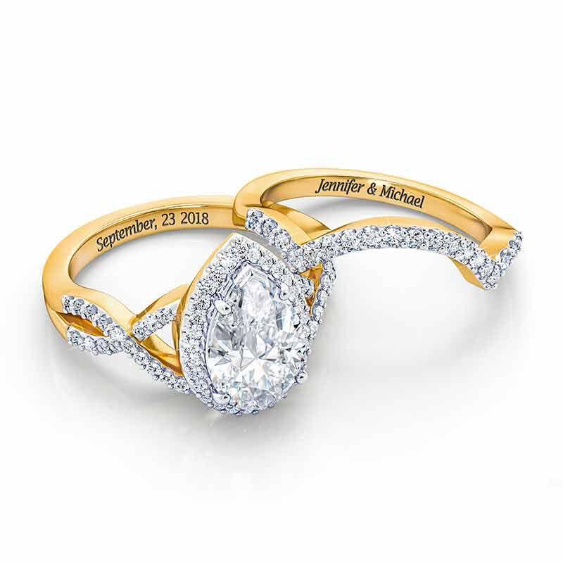 The Diamonisse Bridal Set 2775 001 7 2
