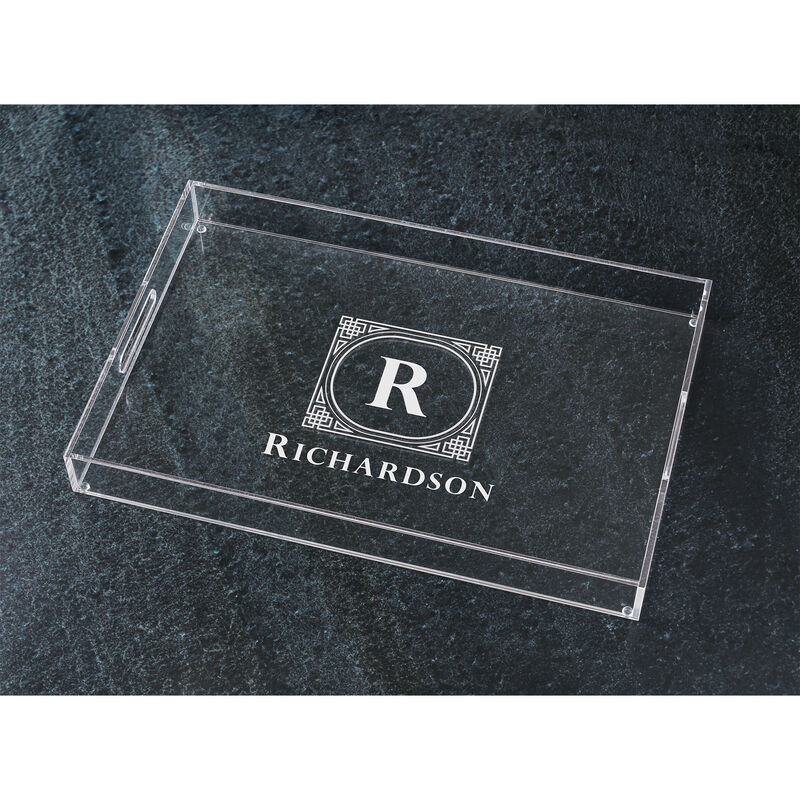The Personalized Deluxe Acrylic Tray 5688 001 6 2