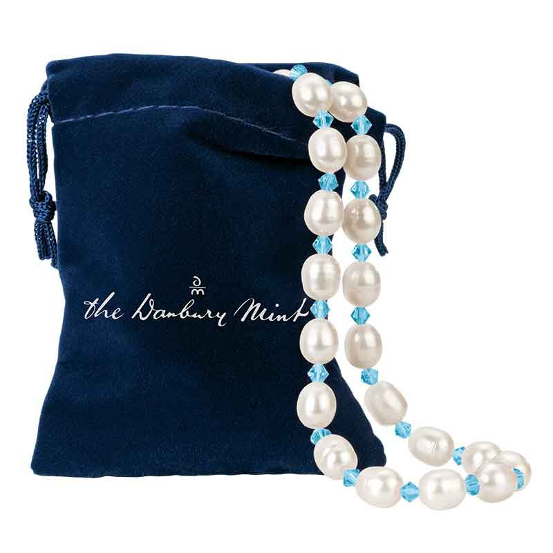 Birthstone and Pearl Necklace 1108 001 7 13