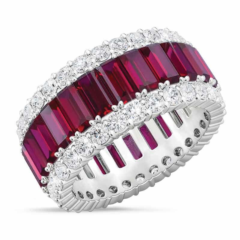 Birthstone Beauty Eternity Ring 2811 001 3 7