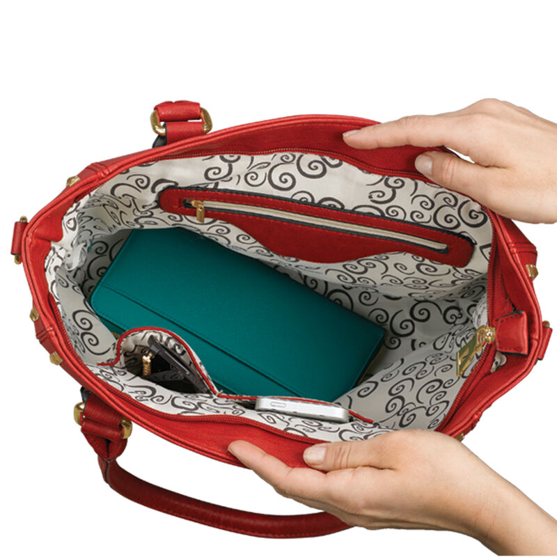 The Ruby Royale Handbag 0068 0041 c inside