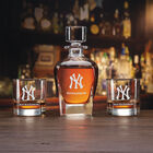 The Personalized New York Yankees Decanter Set 10128 0014 a main