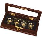 Gold Bullion Coins of the World 6158 0015 a main four