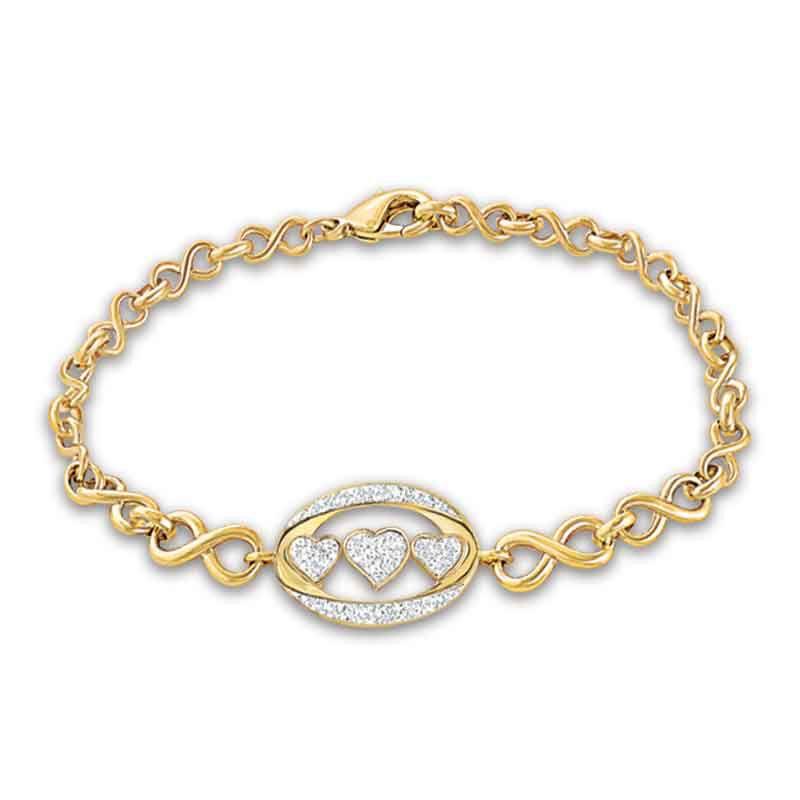 My Daughter I Love You Diamond Bracelet 5445 001 0 1