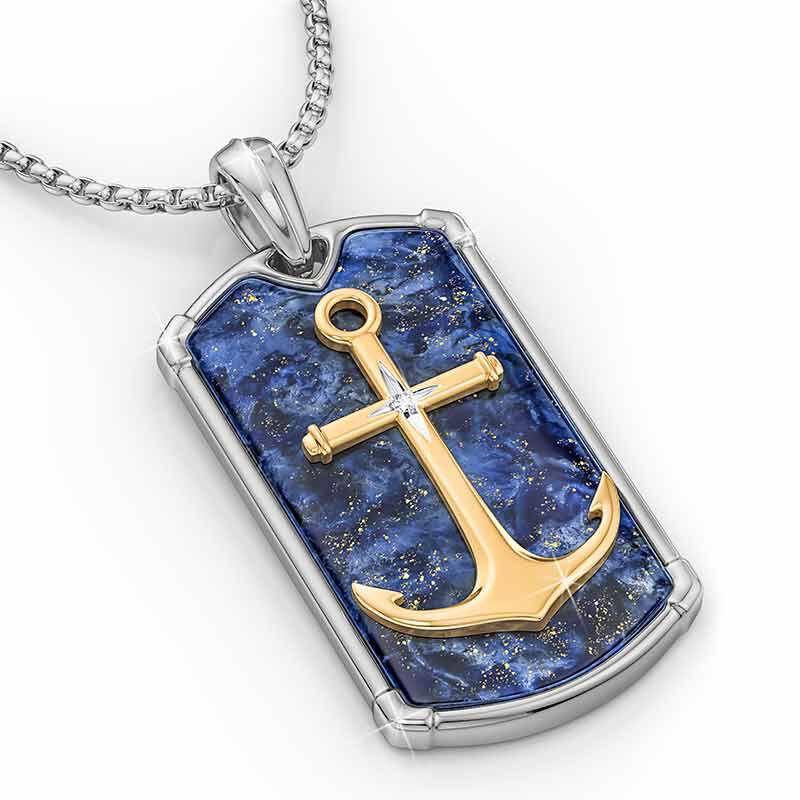 Let Faith Be Your Anchor Grandson Pendant 2576 001 8 3
