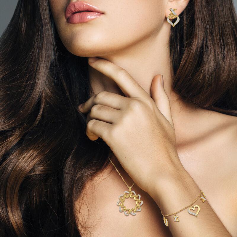 Treasures of Heart Golden Jewelry Set 10338 0010 m model