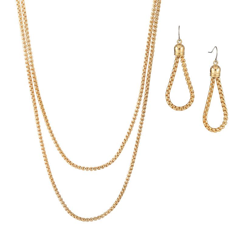 Golden Glow Triple Neck Ear Collection 10580 0015 d necklace