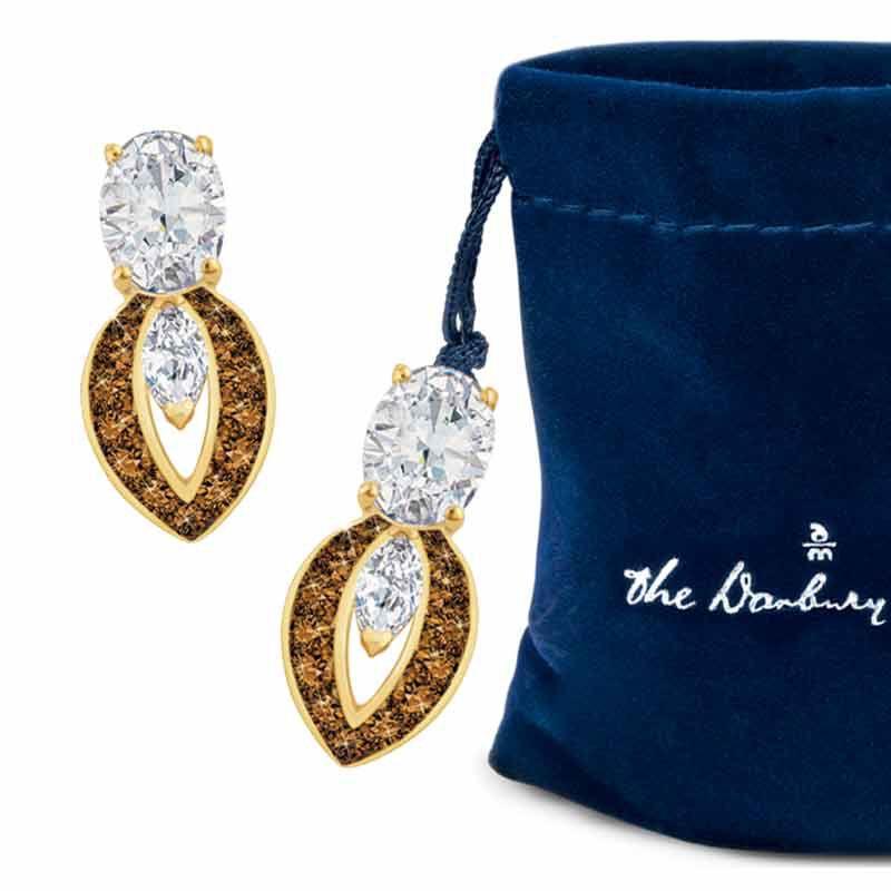 Mocha Splendor Diamonisse Earrings 2111 013 5 2