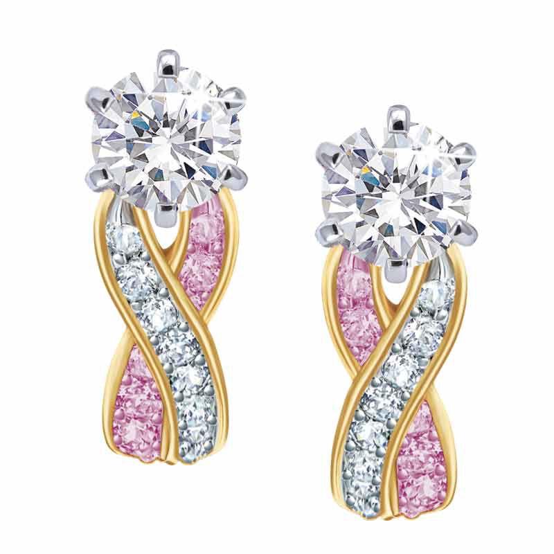 Birthstone Swirl Earrings 5361 014 3 6