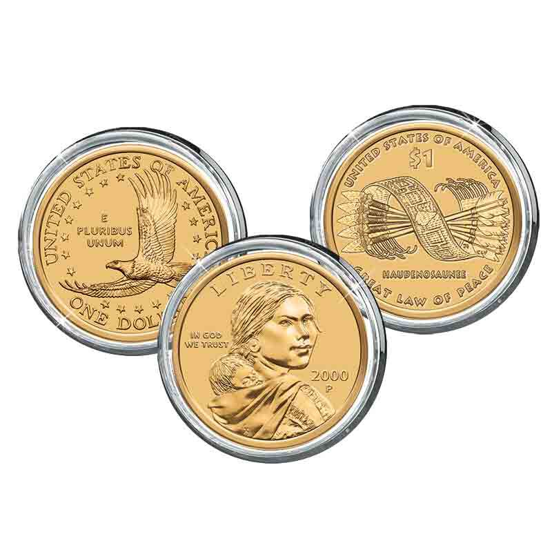 The Native American Golden Dollar Collection 1511 001 8 1