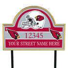 NFL Pride Personalized Address Plaques 5463 0405 a cardinals