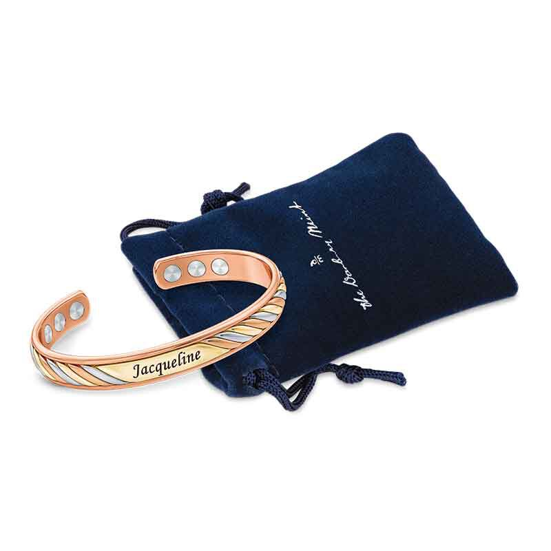 Copper Trinity Personalized Bangle 6776 001 7 2