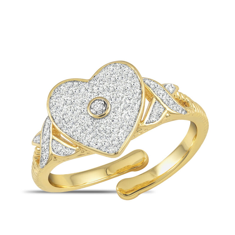 Facets Monthly Diamond Ring Collection 6114 0034 d april