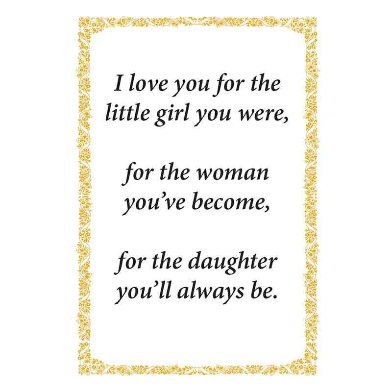 For My Daughter Diamond Pendant 2684 001 7 4