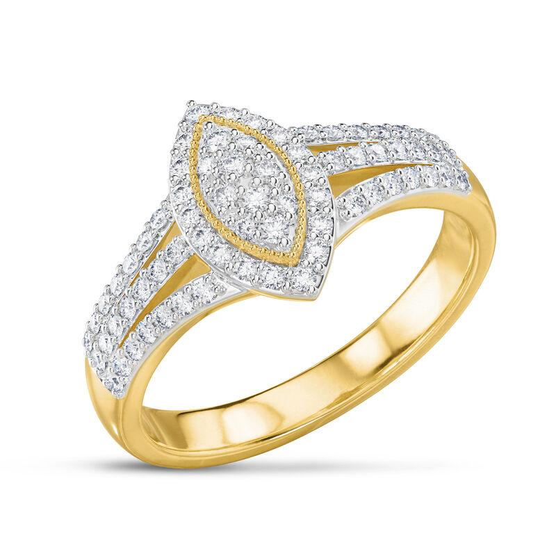 Marquise Dream Diamond Ring 6714 0012 a main
