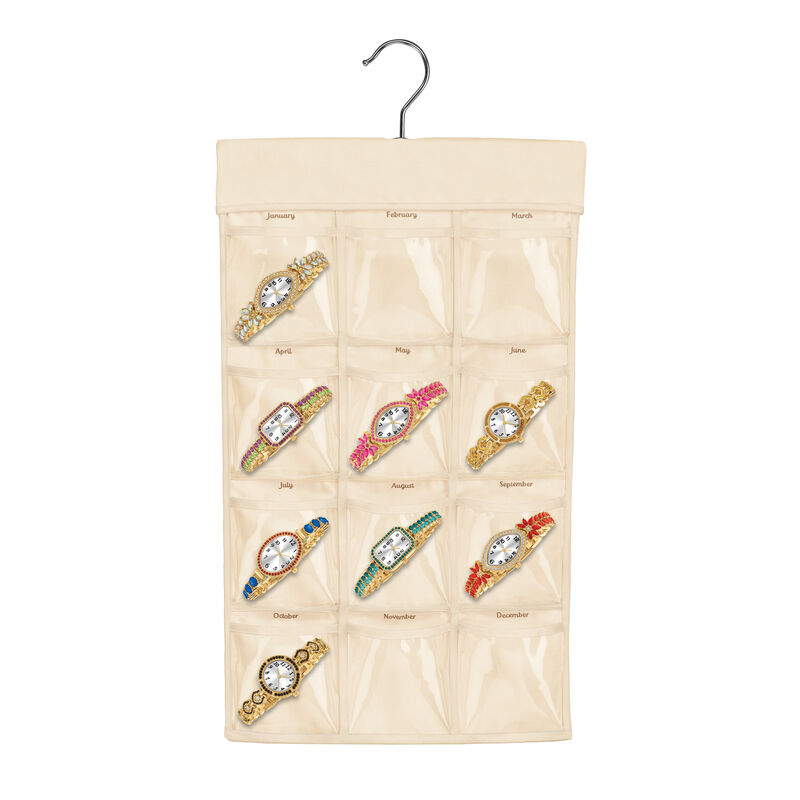 Crystal Touch Monthly Watches 6831 0010 i gift pouch